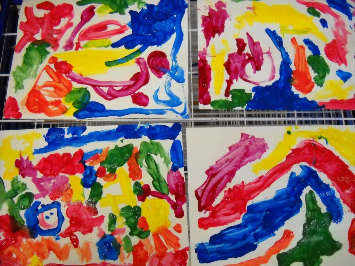 preschool paintings