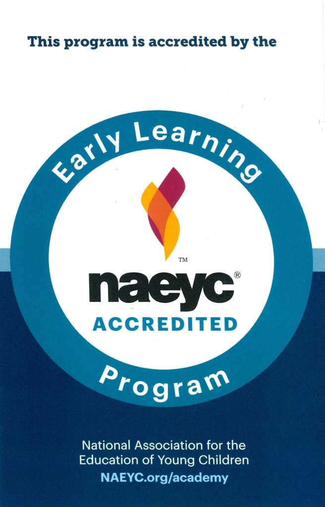 NAEYC accreditation seal image